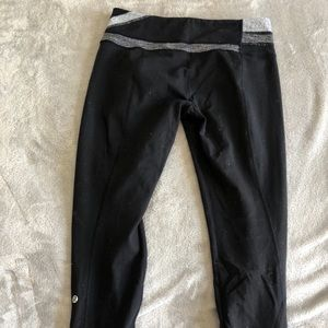 Lululemon Black reversible leggings